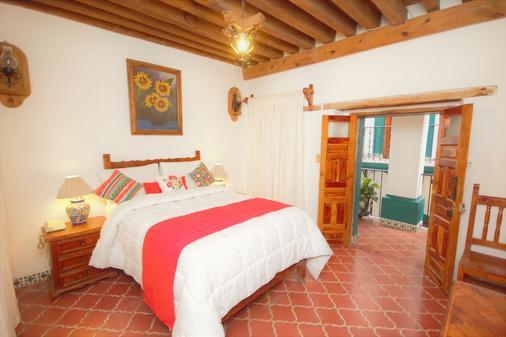 Hotel Mesón del Rosario - Guanajuato - Bedroom