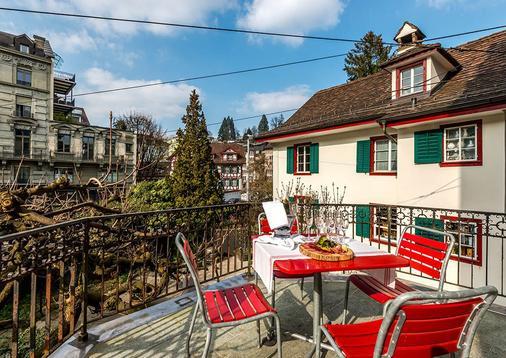 Hotel Rebstock Luzern - Λουκέρνη - Μπαλκόνι