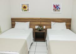 Hotel Sao Miguel - Sorriso - Bedroom