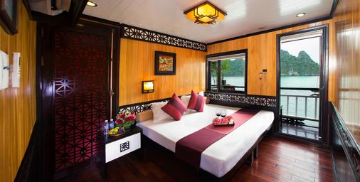 Swan Cruises Halong - Ha Long - Makuuhuone