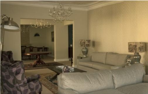 Q on First - Johannesburg - Phòng khách