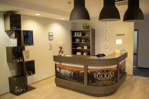 Goda Hotel & Spa - Druskininkai - Vastaanotto