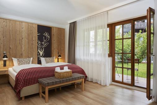 H+ Alpina Garmisch - Garmisch-Partenkirchen - Bedroom
