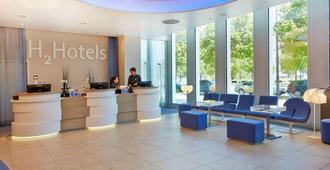 H2 Hotel München Messe - Múnich - Recepción