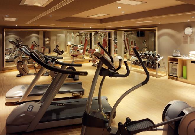 德勒斯登加堡瑞士酒店 - 德勒斯登 - 德勒斯登 - 健身房