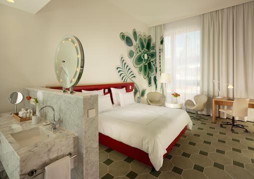 德勒斯登加堡瑞士酒店 - 德勒斯登 - 德勒斯登 - 臥室