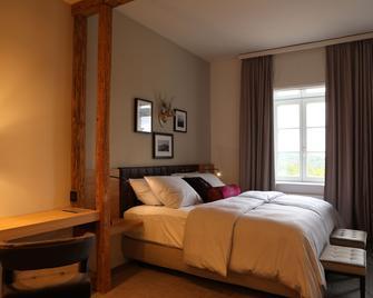 Hotel Brunnenhaus Schloss Landau - Landau (Hesse) - Bedroom