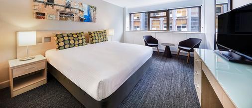 Travelodge Hotel Sydney Wynyard - Сидней - Спальня