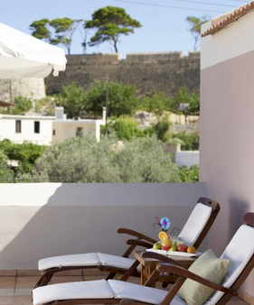 Palazzo Vecchio Exclusive Residence - Réthymno Town - Ban công