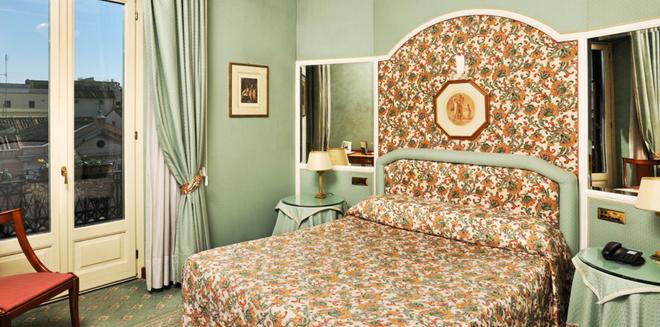 梅斯納特宮酒店 - 羅馬 - 羅馬 - 臥室