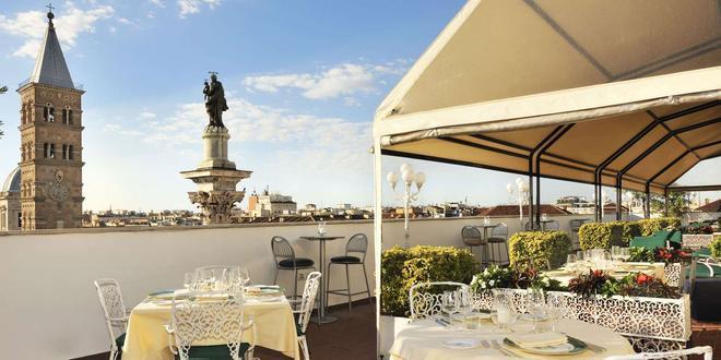 梅斯納特宮酒店 - 羅馬 - 羅馬 - 陽台