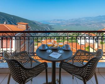 Fedriades Delphi Hotel - Delphi - Balcony