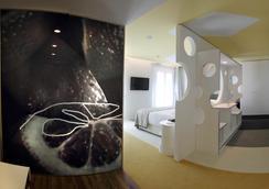Room Mate Pau - Barcelona - Schlafzimmer