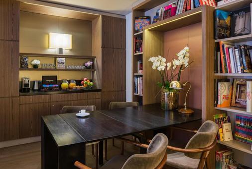 圖爾维爾艾菲爾酒店 - 巴黎 - 巴黎 - 自助餐