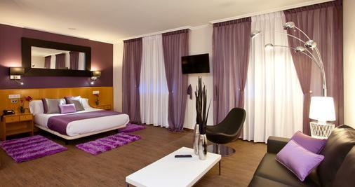 Hotel Palacio de Cristal - Burela de Cabo - Bedroom