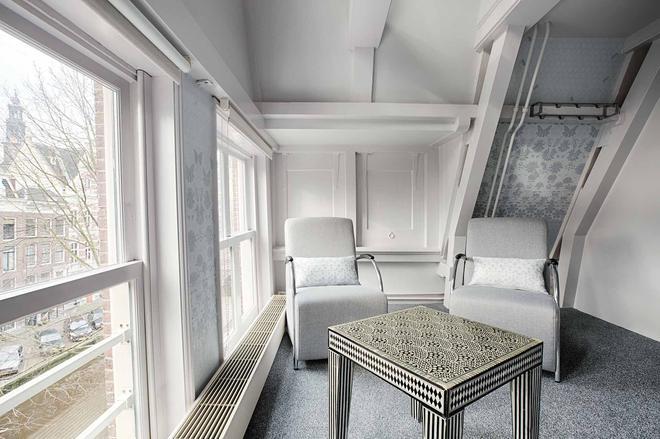 T酒店 - 阿姆斯特丹 - 客廳
