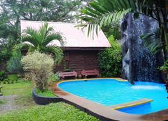 Hotel Cabanas La Teca - Liberia - Piscina