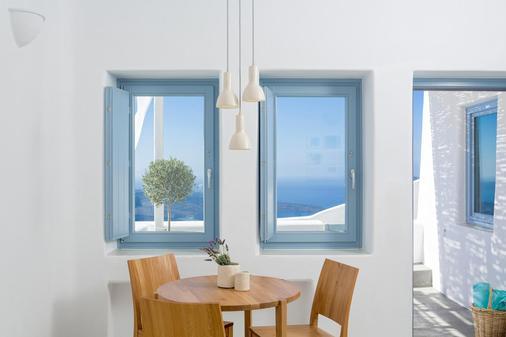 Galini Hotel - Firostefani - Phòng ăn
