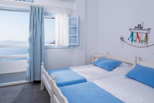 Galini Hotel - Firostefani - Phòng ngủ