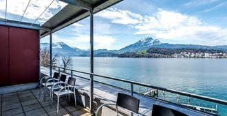 Seehotel Hermitage - Luzerne - Balkong