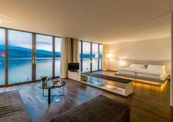 Seehotel Hermitage - Luzern - Makuuhuone