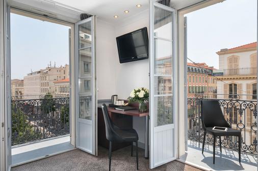 Best Western Hôtel New York Nice - Nice - Balcony