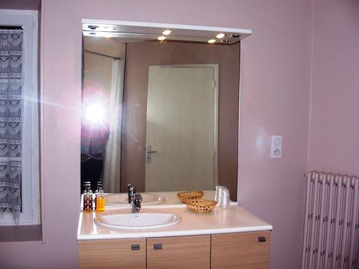 La Vieille Auberge - Saint-Privat-d'Allier - Bathroom