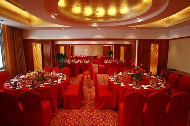 Shanghai Airlines Travel Hotel - Shanghai - Banquet hall