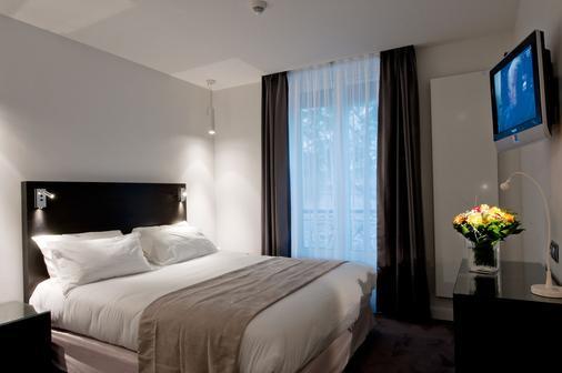 Hôtel Devillas - Paris - Bedroom