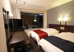 アパホテル 福岡渡辺通 Excellent - 福岡市 - 寝室