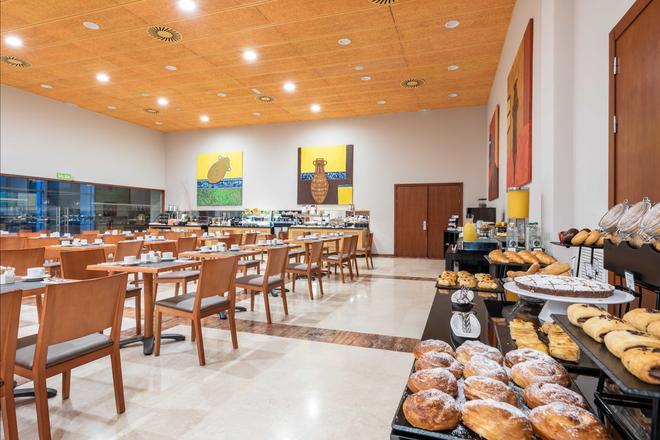 聖拉薩羅歐洲之星酒店 - 聖地牙哥康波 - 聖地牙哥德孔波斯特拉 - 自助餐
