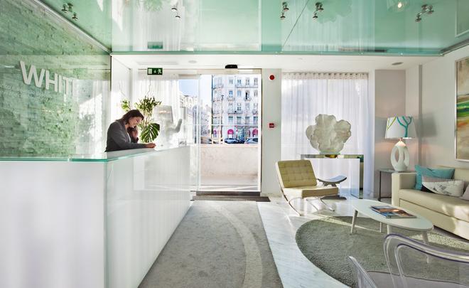 Hotel White Lisboa - Lisbon - Front desk