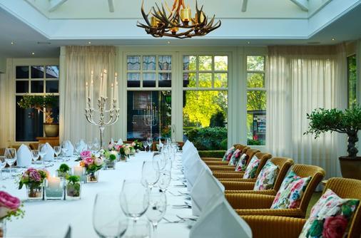 Romantik Hotel Jagdhaus Eiden am See - Bad Zwischenahn - Banquet hall