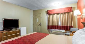 主教紅屋頂酒店 - 比夏普 - 畢曉普(加州) - 臥室