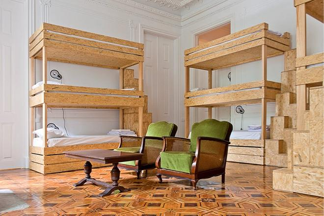 The Independente Hostel & Suites - Lissabon - Makuuhuone