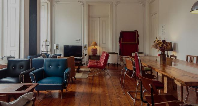 The Independente Hostel & Suites - Lissabon - Oleskelutila