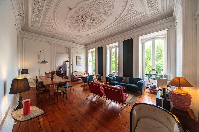 The Independente Hostel & Suites - Lissabon - Olohuone