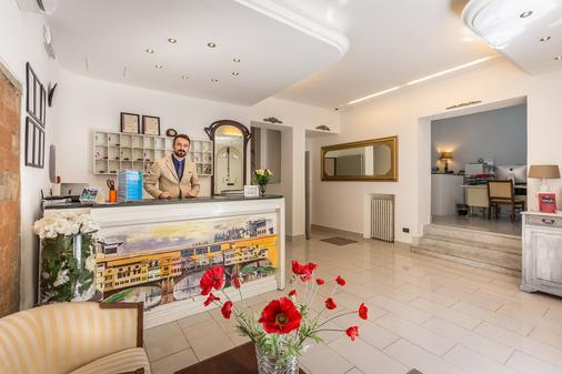 Hotel Veneto - Florence - Front desk