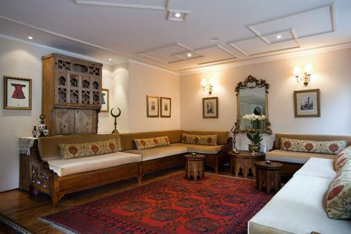 Hotel Sari Konak - Istanbul - Living room