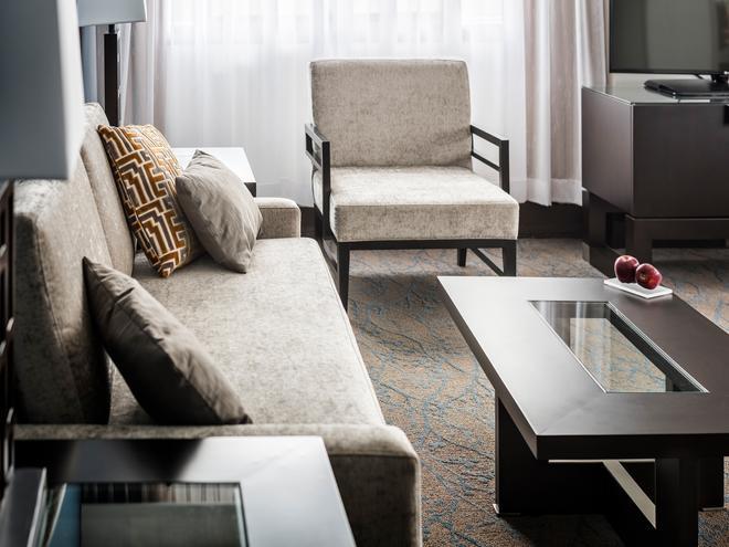 渥太大使套房酒店 - 渥太華 - 渥太華 - 客廳
