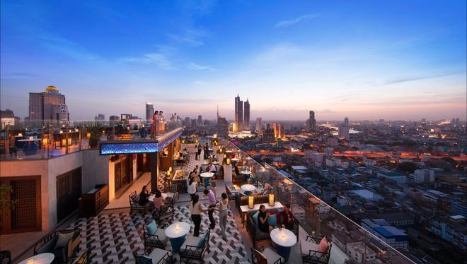 蘇拉翁塞曼谷萬豪酒店 - 曼谷 - 露天屋頂