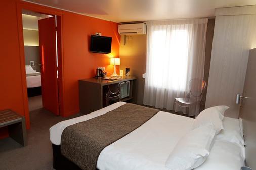 Logis Hôtel Le Renard Châlons-En-Champagne - Châlons-en-Champagne - Bedroom
