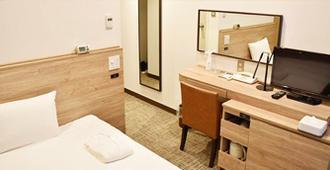 Nest Hotel Osaka Shinsaibashi - Осака - Спальня