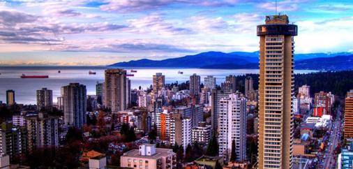 Empire Landmark - Vancouver - Outdoor view
