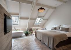 Hotel De Witte Dame - Abcoude - Schlafzimmer