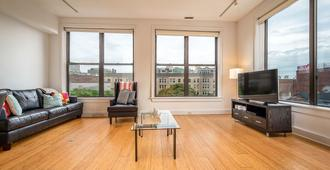 Downtown Boston Furnished Apartment - Boston - Sala de estar