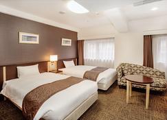 Hotel Hokke Club Fukuoka - Fukuoka - Slaapkamer