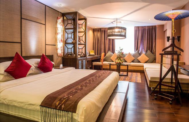 Rose Garden Hotel - Yangon - Makuuhuone