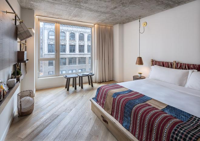 瑪德飯店 - 紐約 - 臥室