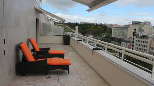 Marques De Pombal Hotel - Lisboa - Varanda